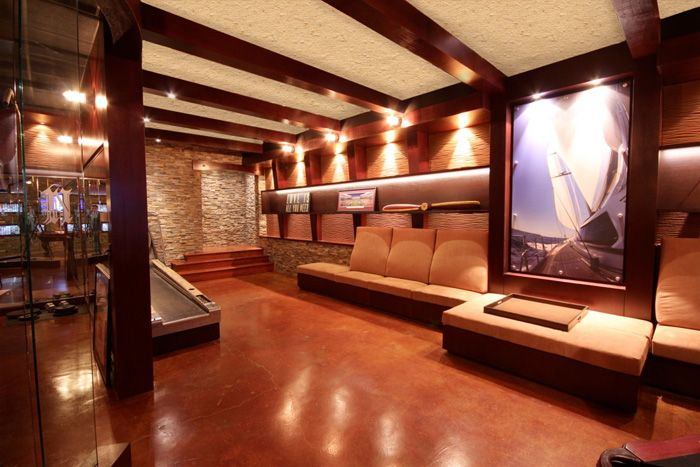 Modern Man Cave Ideas: Modern AND Masculine! Very Sexy Man Cave.