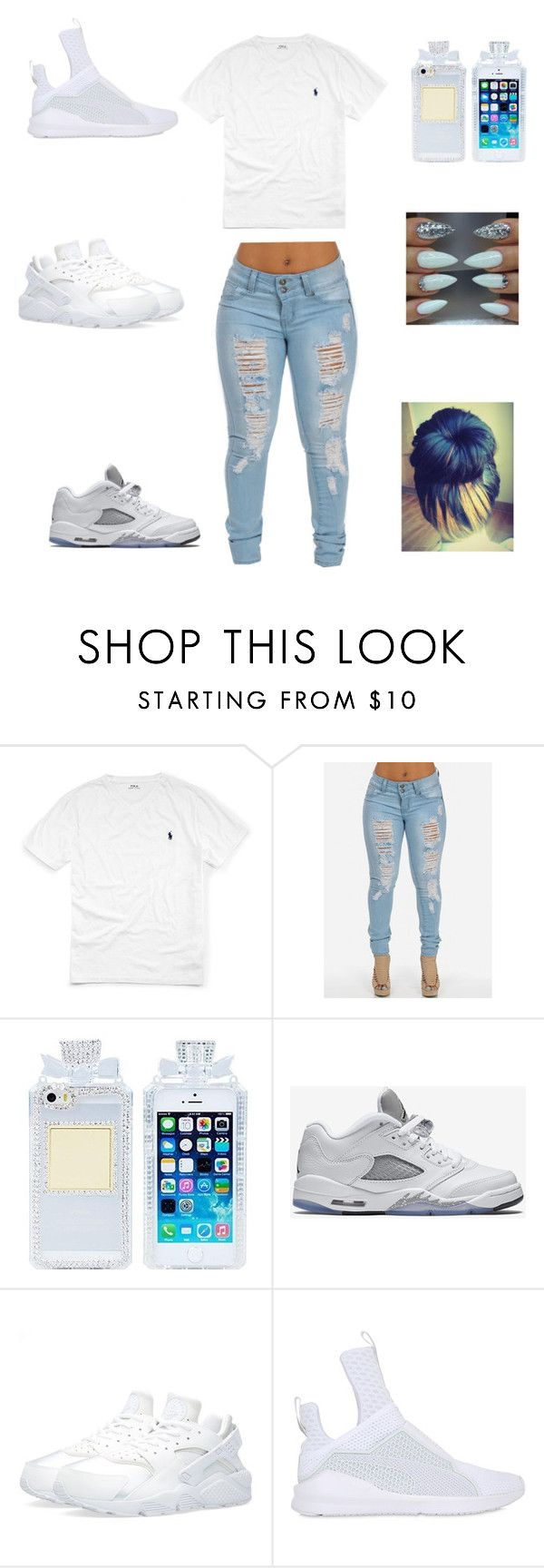 """""""chillin"""" by aleisharodriguez ❤ liked on Polyvore featuring Ralph Lauren, NIKE and Puma"""
