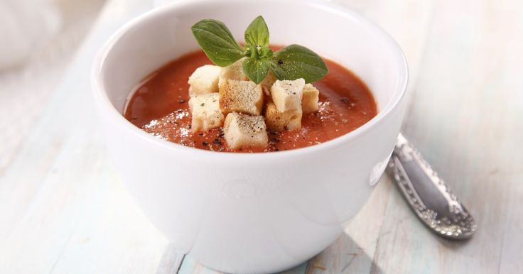 Recette - Soupe de tomates   Notée 4.3/5