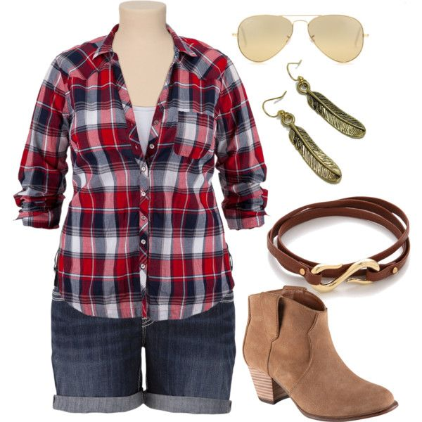 Summer Cowgirl #plussize #plus #size