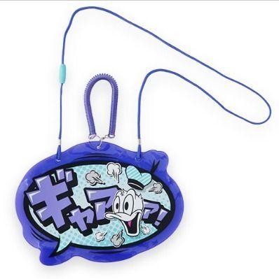 東京ディズニー カタカナ ロゴ セリフ パスケース ドナルド TDR
