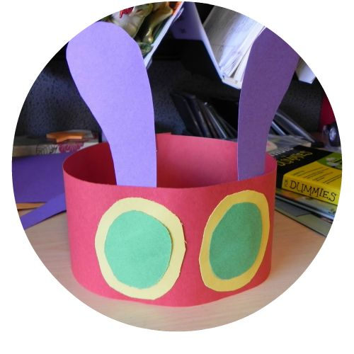 Here are 15 FANTASTIC The Very Hungry Caterpillar Art and Craft ideas for children!