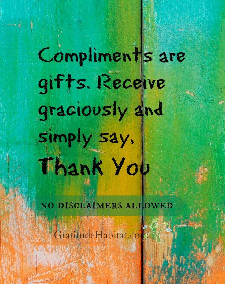 You are the best! Visit us at: www.GratitudeHabitat.com #gratitude #gratitude-gifts #compliments