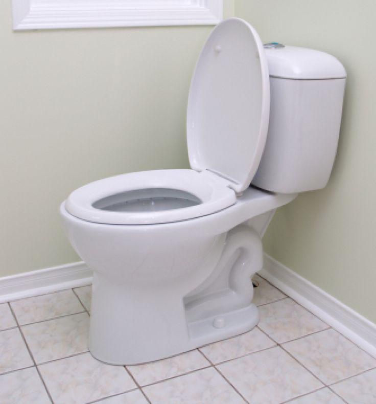 L'acqua di regolazione:Quando il bagno sembra essere costantemente in esecuzione, potrebbe essere un'indicazione che il livello dell'acqua, all'interno della cassetta del water, è troppo alto, e l'acqua sta compromettendo il tubo del troppo pieno. Si consiglia di regolare il livello dell'acqua nel serbatoio per risolvere il problema. Perossido di idrogeno:Aggiungere ½ tazza di perossido di idrogeno e una tazza d'acqua in una bottiglia a spruzzo. Spruzzare tutte le superfici del water con…