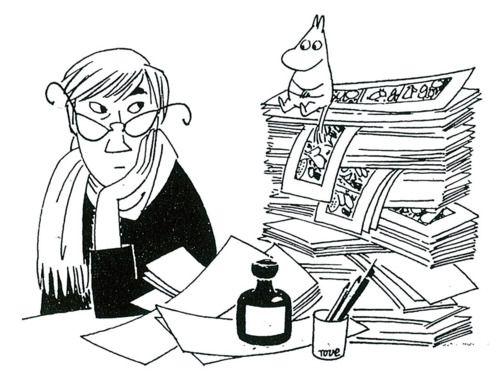 Tove Jansson, creator of Moomintroll stories