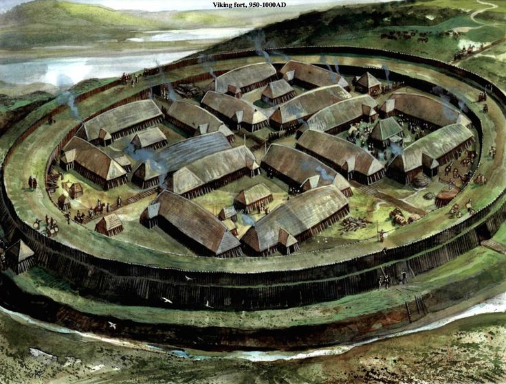 Viking Fort 950 - 1000 AD