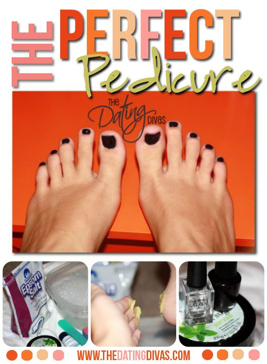 How to give yourself the perfect pedicure- just in time for the at-home Marriage Makeover Conference!
