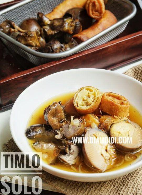 Diah Didi's Kitchen: Timlo Solo Ala Timlo Sastro