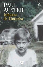 Una autobiografia. En un món entre la ficció i la no ficció. Una aventura espiritual i intel·lectual.