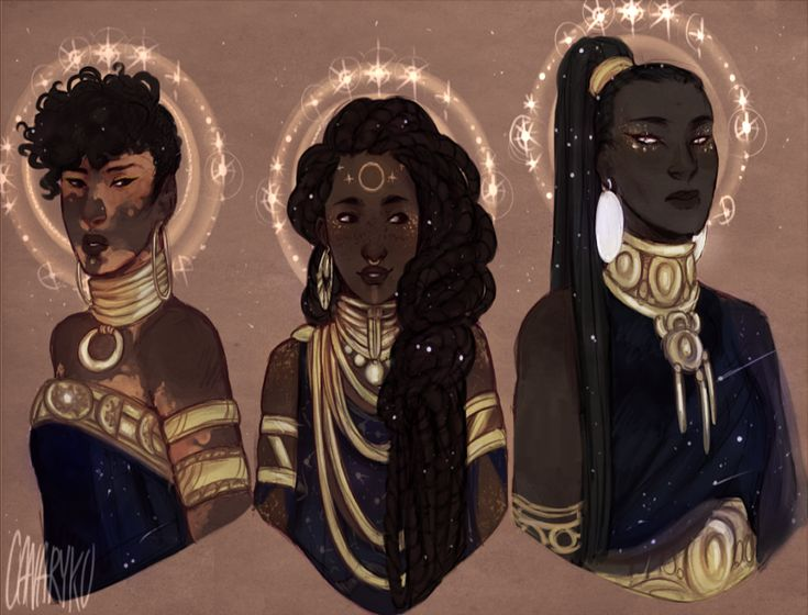 Dark Skin Anime Characters and Other Goodies (doodlesfromthebird: I took a slight look back on...)