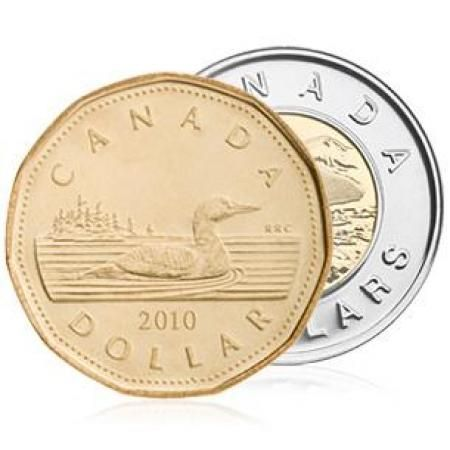"Canadians have named their $1 and $2 coins the ""loonie"" and ""toonie"" respectively. And, if just to stay sensible, they've eliminated the penny as of earlier this year"