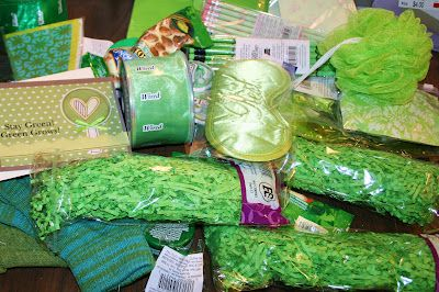 """Missionary """"Greenie"""" package.  Plus a free """"Stay Green"""" card to print."""