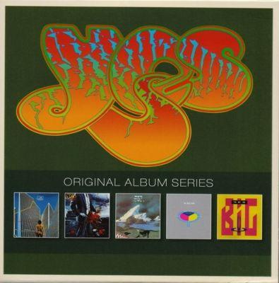 Yes – Original Album Series [Box Set 5CD 1977-1987] (2013) Flac