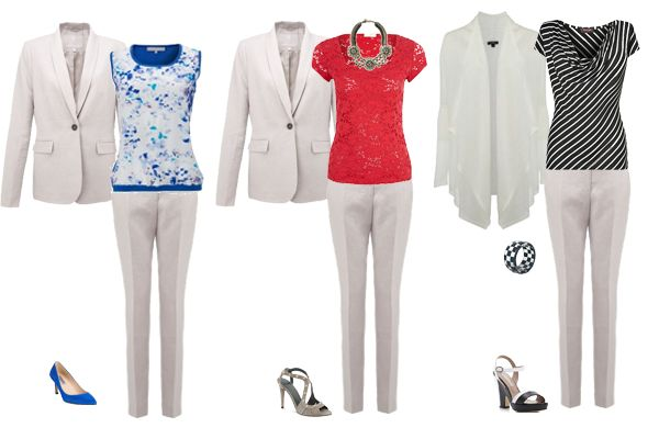 Summer Suit, Styled 3 Ways