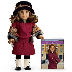 My daughter had American Girl dolls when she was growing up and now my granddaughter is almost ready.  She asked for one at last so I'm thinking we'll give her one of the mini-dolls to start with.  Then she can graduate to a big doll next year.  So exciting!