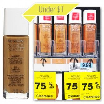 Revlon Foundation, Only $0.50 at Rite Aid!