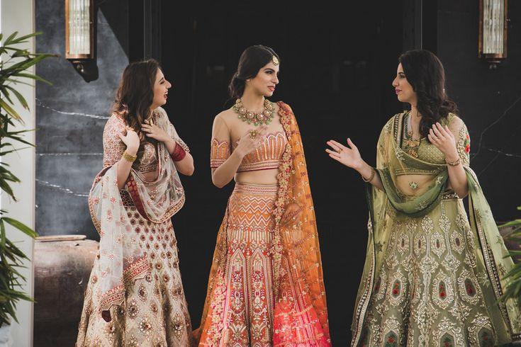 WMG X Tarun Tahiliani: Saffron Stunner | WedMeGood - Best Indian Wedding Blog for Planning & Ideas.