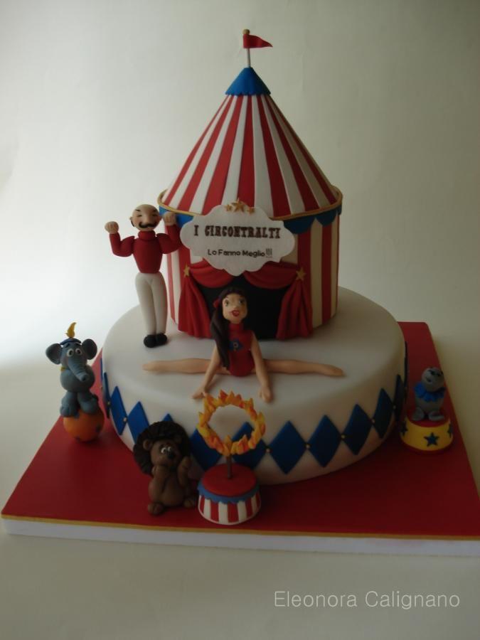 The Circus - Cake by Eleonora Calignano
