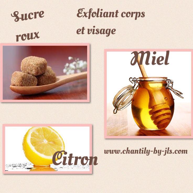 Hello ! Les P'tis plus de Chantilly vous donne la recette d'un exfoliant visage & Corps simple, rapide, peu coûteux ! Qui vous rendra la peau toute Douce, éliminera les peaux mortes, le citron un excellent assainissant pour la peau, la nettoie en profondeur , le miel dont je ne vous rappelle pas c'est puissant vertus qui ne sont plus à prouver! Le sucre roux un excellent exfoliant doux il fond au contacte du miel est du citron.# Slowcosmétique #macosmetique #chantillybyjls