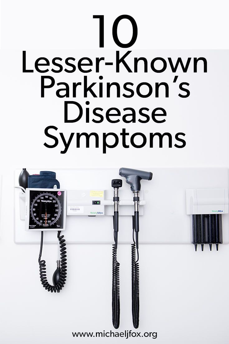 Some Parkinson's disease symptoms are difficult even for specialists to detect.