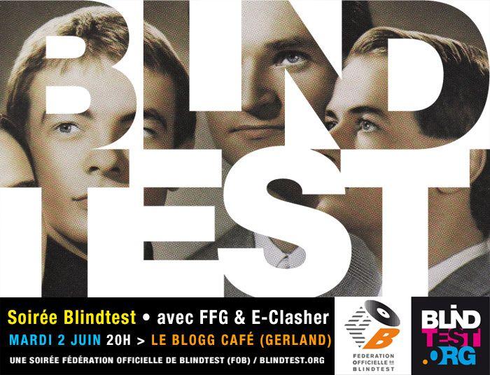 soirée blind test au Blogg, mardi 2 juin avec FFG & E-Clasher