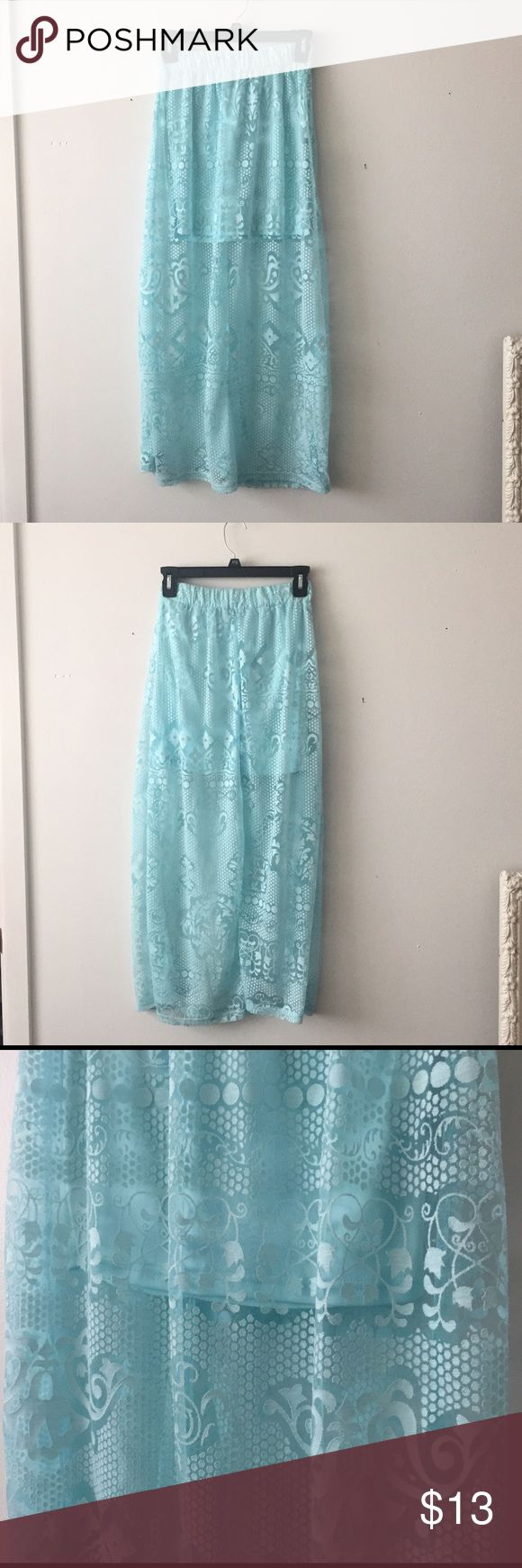 1000 ideas about sheer maxi skirt on
