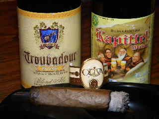 Cigar and Beverage Pairings: Oliva Serie 'G' Cameroon vs. Kapittel Blond and Troubadour Blond Ale