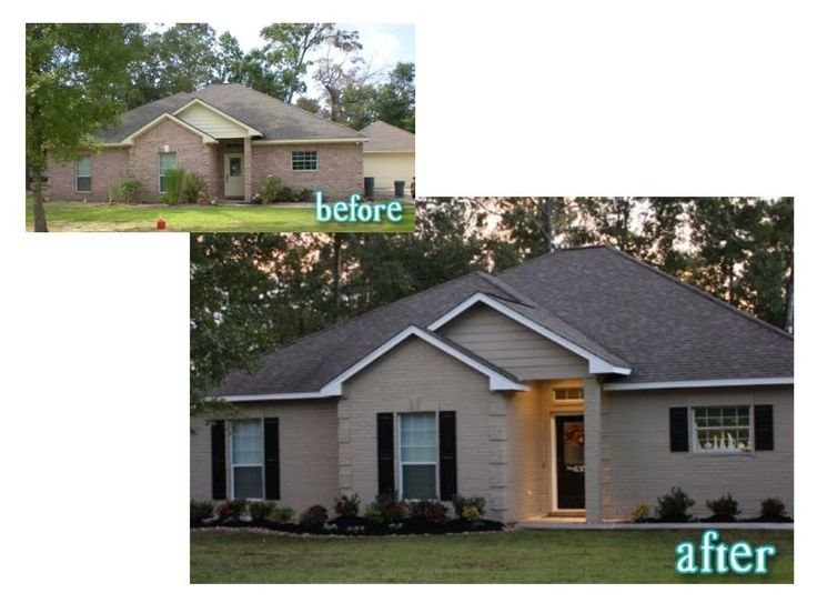 painted brick houses | Phoenix Painting Contractor Gives Advice on Painting Brick or Stone ...