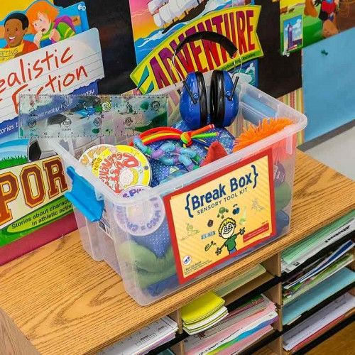 Autism, ADHD, Aspergers Classroom Management Tools | Special Needs Teaching Strategies | Special Education Resources | Sensory Tool Kit | Break Box by Fun and Function