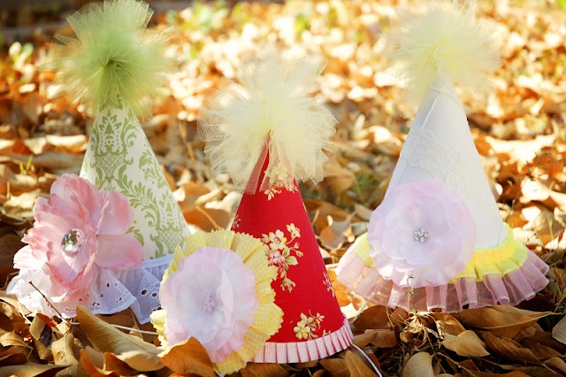 I'm gonna make these for my little girls 1st birthday party!!!  They are so cute!!!: Party Time, Tradewind Tiaras, Party Hats, Parties, 1St Birthday, Party Ideas, Birthday Ideas