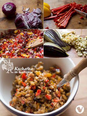 Kuchařka ze Svatojánu: PIKANTNÍ LILKOVÁ SMĚS