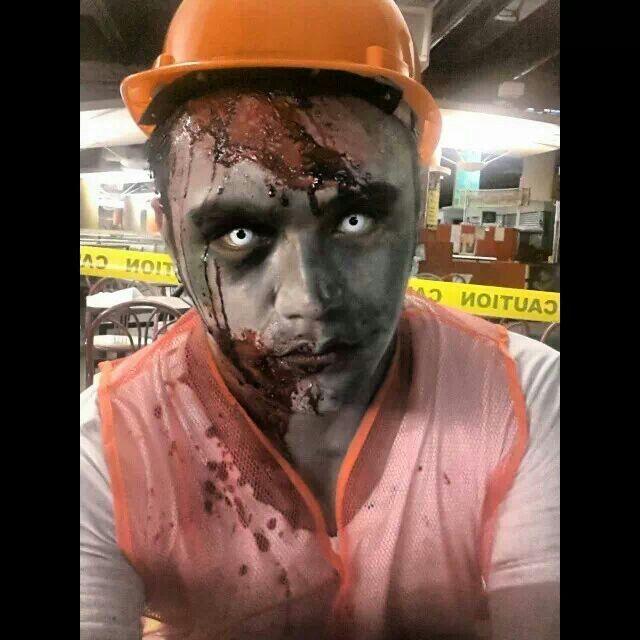 Zombie Construction Worker | Make Up - Halloween ...