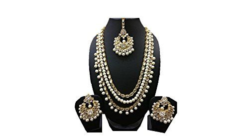 VVS Jewellers Indian Bollywood Inspired Gold Plated White... https://www.amazon.com/dp/B073RG88LZ/ref=cm_sw_r_pi_dp_x_vz1xzbVMMSVYR