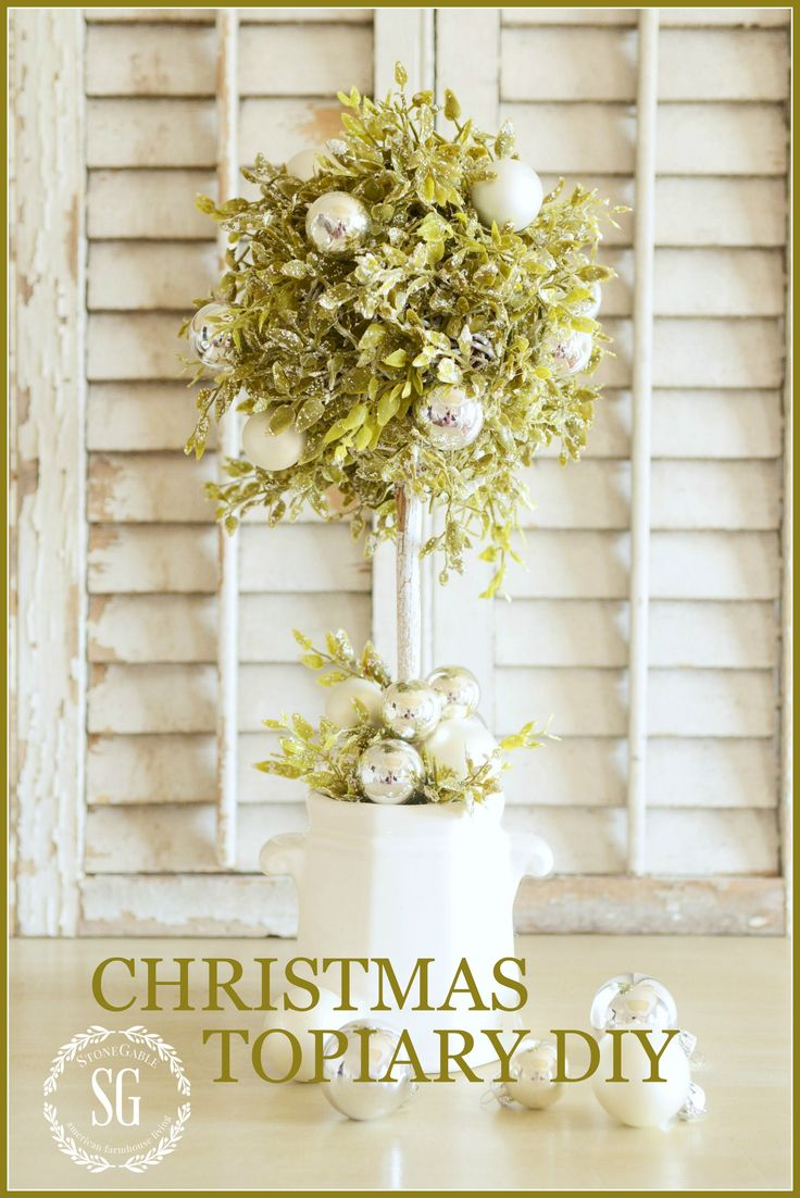 best 25 christmas topiary ideas on pinterest large outdoor