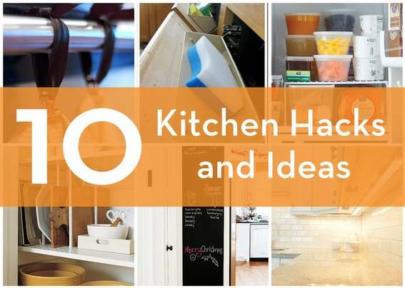 10 Awesome Kitchen Hacks and Ideas