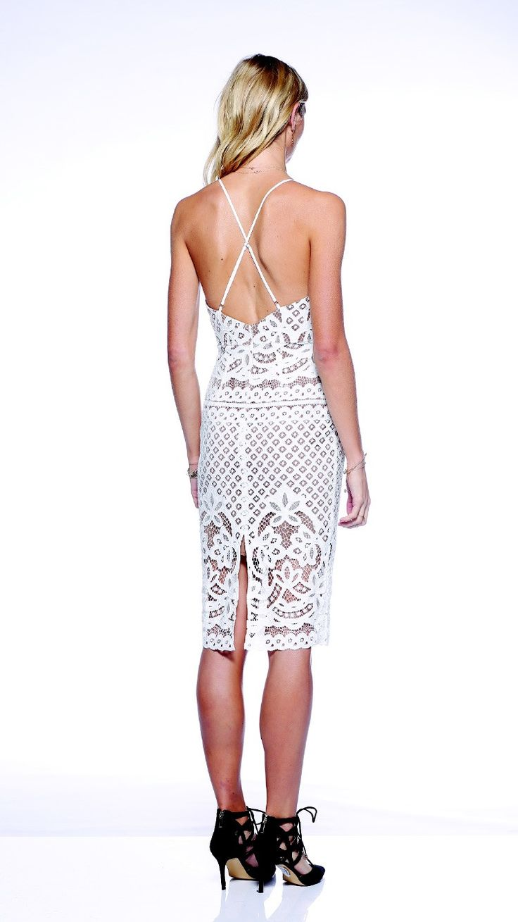 Ministry of Style - Tailgate Pencil Dress - Ivory