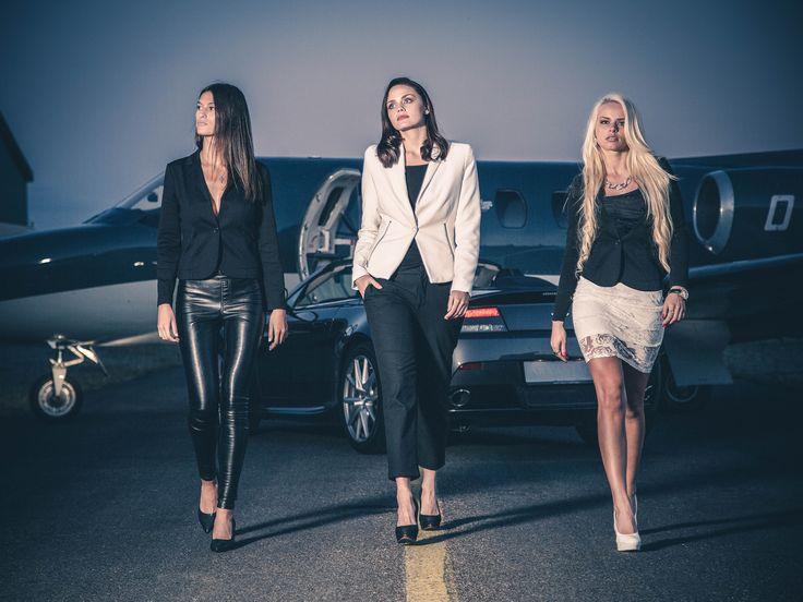 Photoshoot for Aston Martin Denmark // Models: Vaiga, Malene, Raimonda // Photo: Stanley Photography
