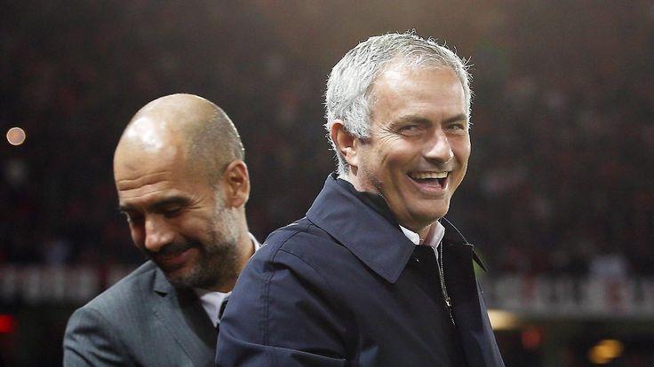 Erfolg gegen Guardiola im Ligapokal: Mourinho siegt im Manchester-Derby