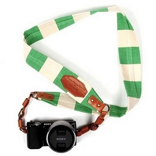 How cute is this camera strap?