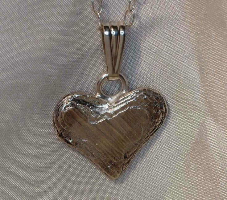 lovely solid sterling silver heart pendant necklaces available to buy on the website http://richardchown.co.uk/buy/ or from the market stall on Sundays. £50