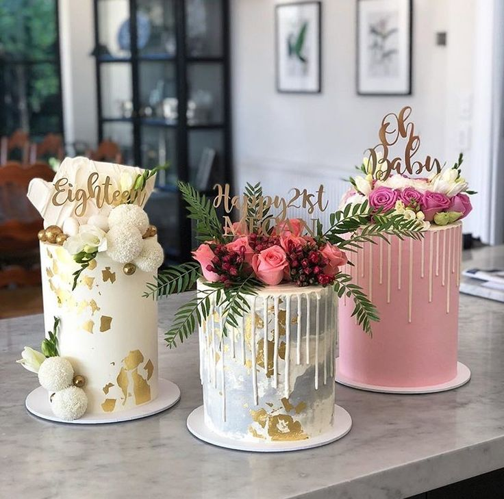 Pin by Ann Tackett on decorated cakes! Fresh flower cake