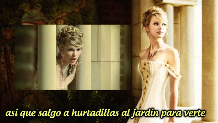 Love Story - Taylor Swift con subtítulos en español.