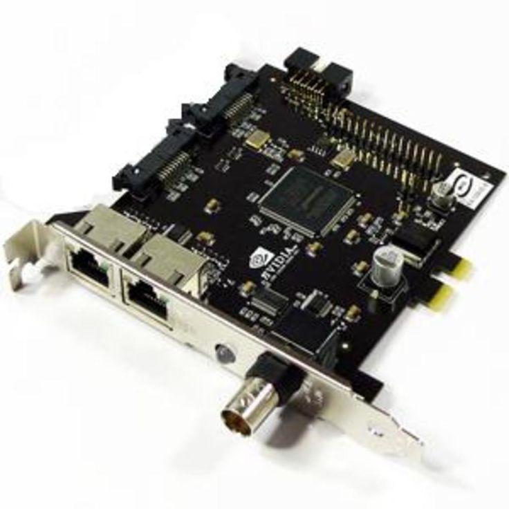 VCQFXGSYNCG80nVIDIA Quadro G-Sync PCIEx1 Add-On Interface Board For FX4600 / FX5600 VCQFXGSYNCG80 VCQFXGSYNCG80-PB