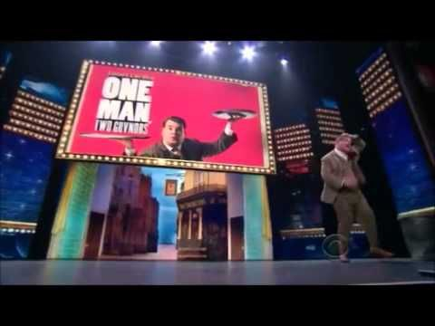 James Corden, from One Man, Two Guvnors (Tony Awards, 2012)