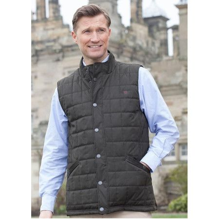 Dubarry Yeats Quilted Vest Verdigris  on frostshoes.com or in Downtown Traverse City