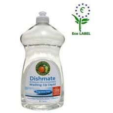 Solutia pentru spalarea vaselor Earth Friendly este non-poluanta, 100%biodegradabila, non-toxica si poate fi utlizata chiar si pentru spalarea rufelor.