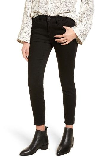 Free shipping and returns on Treasure & Bond Legacy Crop Skinny Jeans at Nordstrom.com. Super-stretchy black denim sculpts a lean, flattering silhouette in these wear-with-everything mid-rise skinny jeans cropped at the ankle to show off your favorite footwear.When you buy Treasure & Bond, Nordstrom will donate 2.5% of net sales (that's 5% of net profits) to organizations that work to empower youth.