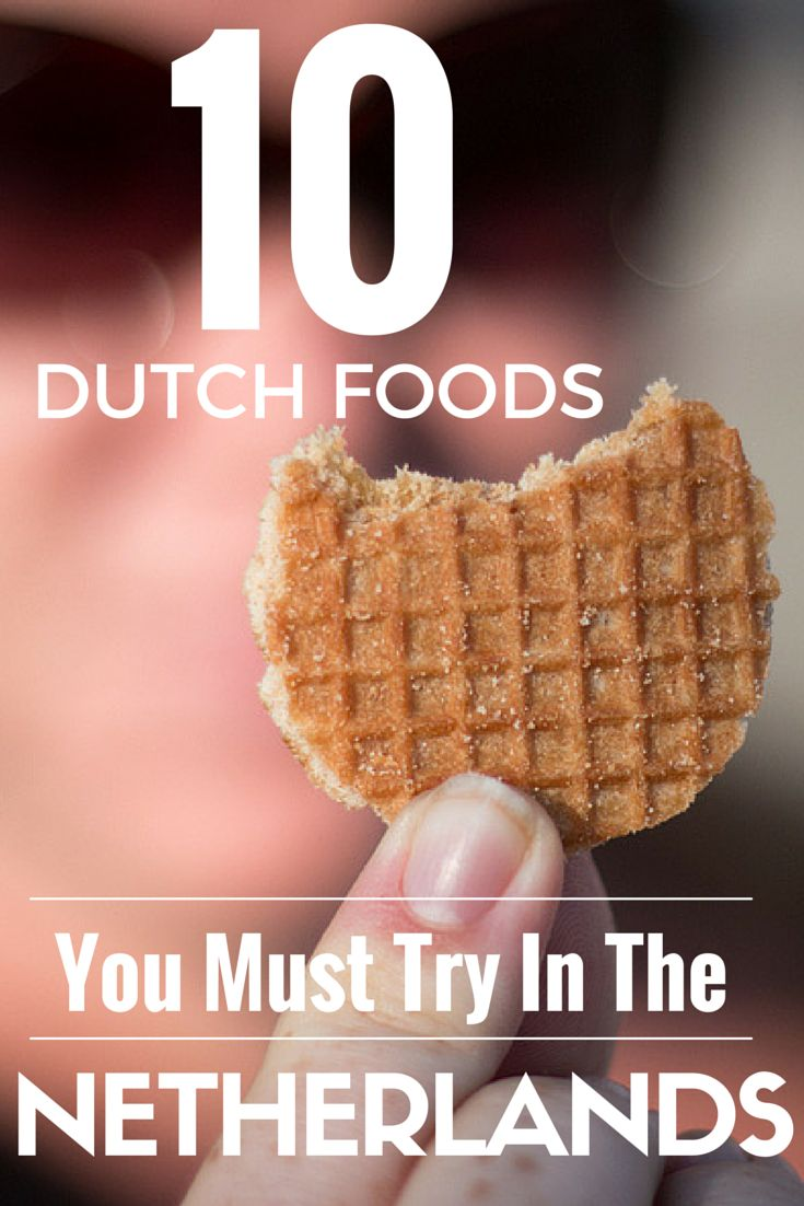 10 Dutch Foods You Must Try In The Netherlands Guesthouse oder Apartment zu vermieten in Zürich! >> http://www.imsonnenbuehl.com .