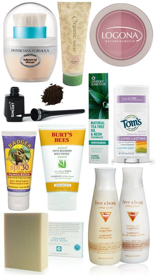 Making the switch to natural cosmetics & body products {via My. Daily. Randomness.}