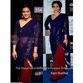 kajol-blue-rose-awesome-designer-saree